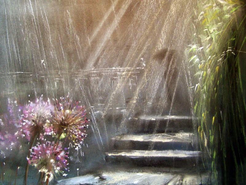 я помню сад и дождь картинки мешает можно отключить