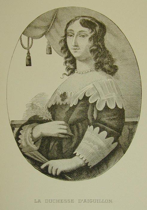 Портрет госпожи д'Эгильон.